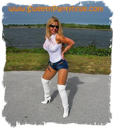 Shiny Pantyhose Biketoberfest Pantyhose