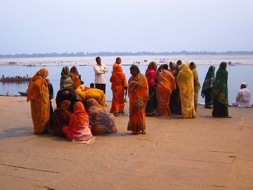 Women at Ganges Ghat | by fabulousfabs