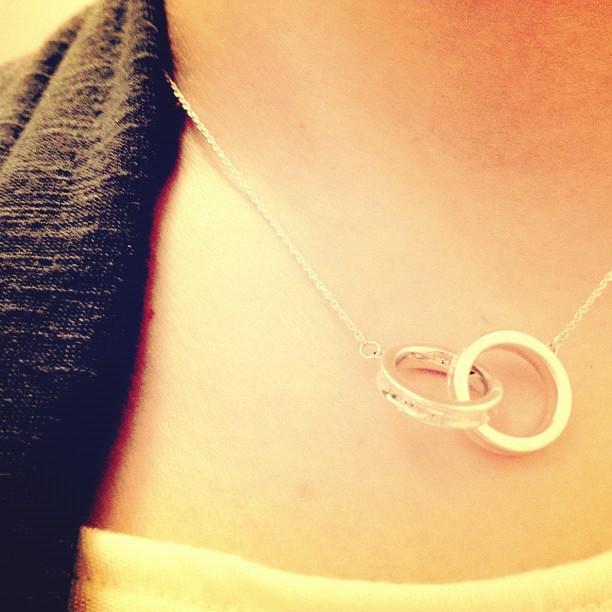 Tiffany necklace interlocking circles best necklace 2017 tiffany s interlocking circles pendant never liked it anyway aloadofball Gallery