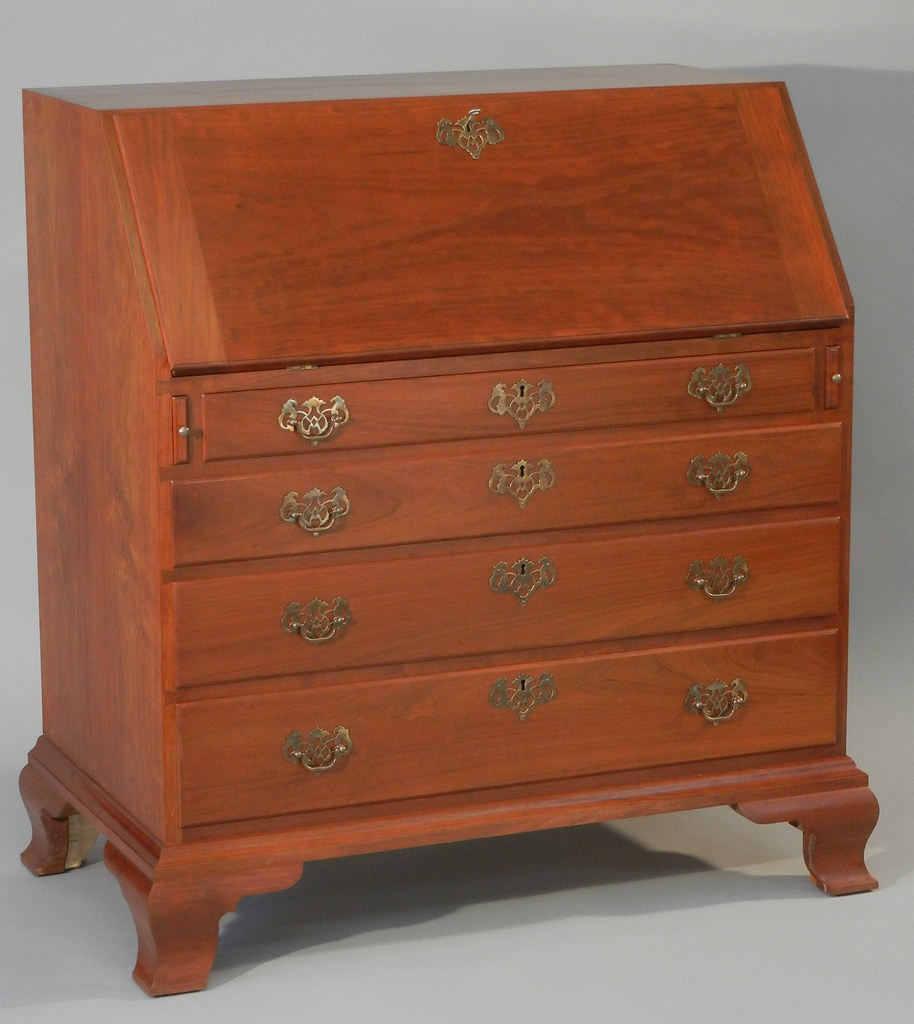 top furniture makers. Reproduction Slant Top Desk Made By Doucette And Wolfe Furniture Makers |