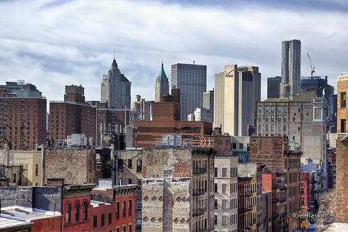 East Broadway - FiDi Skyline | by Joel Raskin