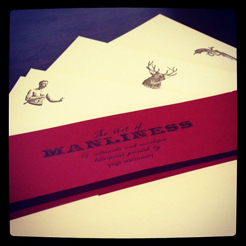 #57 Art of Manliness Stationary | by atommccree