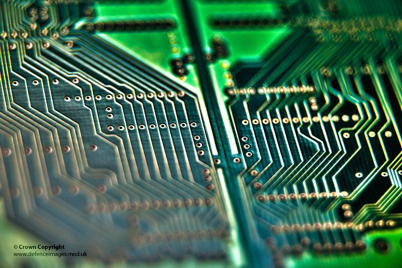 Computer Circuit Board   A computer circuit board. Photograp…   Flickr