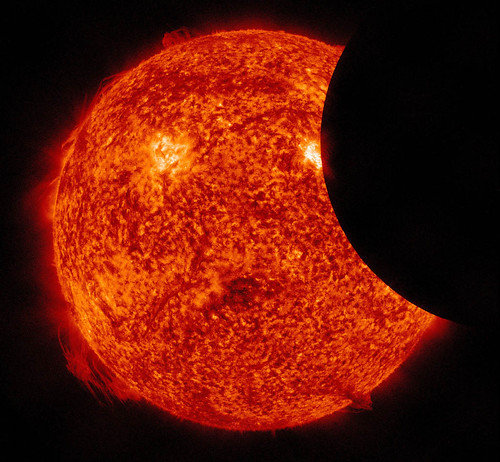 Partial Solar Eclipse Observed By SDO | by NASA Goddard Photo and Video
