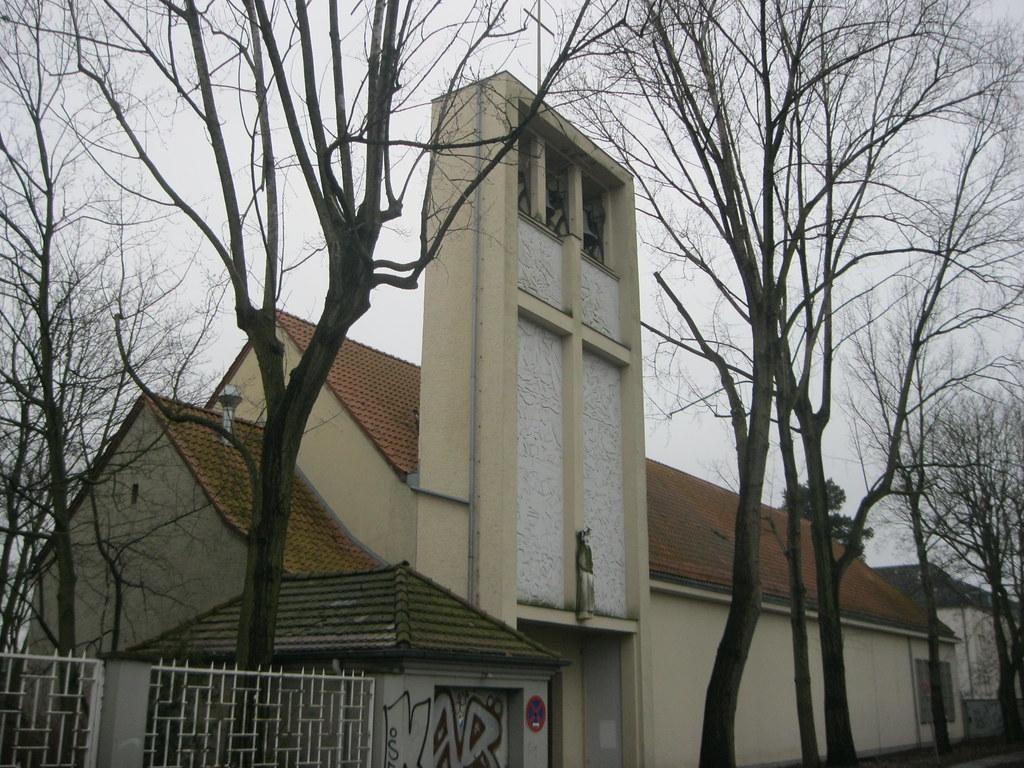 1952 53 Berlin W Katholische Kirche St Louis Von Andre C Flickr