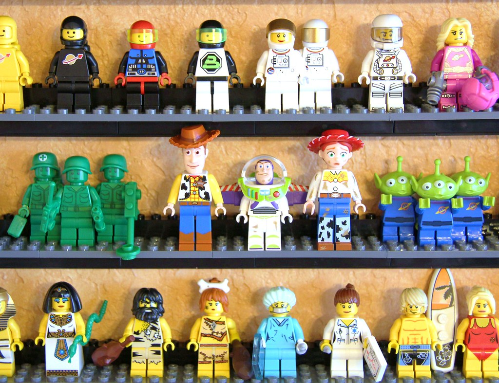 Lego Toy Story Minifigures In Sets From The Lego Toy Story Flickr