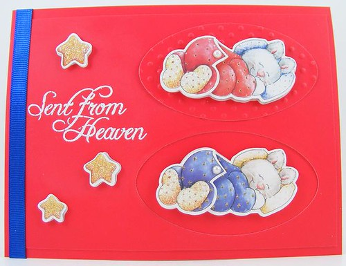 Sent From Heaven 2 Card | by theladystamper2009