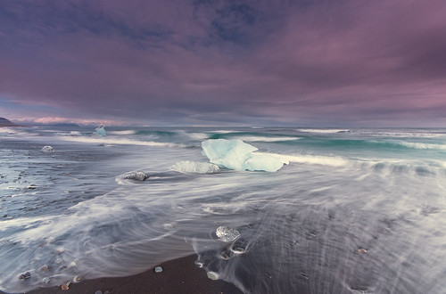 Ice beach | by Lardarz.