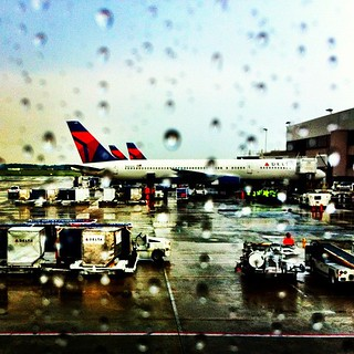 Rain rain go away #airport #atlanta #iphoneography #instamood | by tfdavis