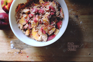 Peach Raspberry Crumble | by twoaftertwenty