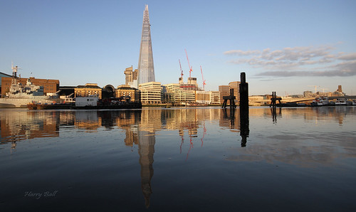 Shard reflections | by Harry Ball