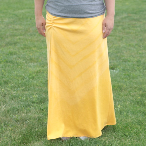 side ruched maxi skirt | by itsalwaysautumn