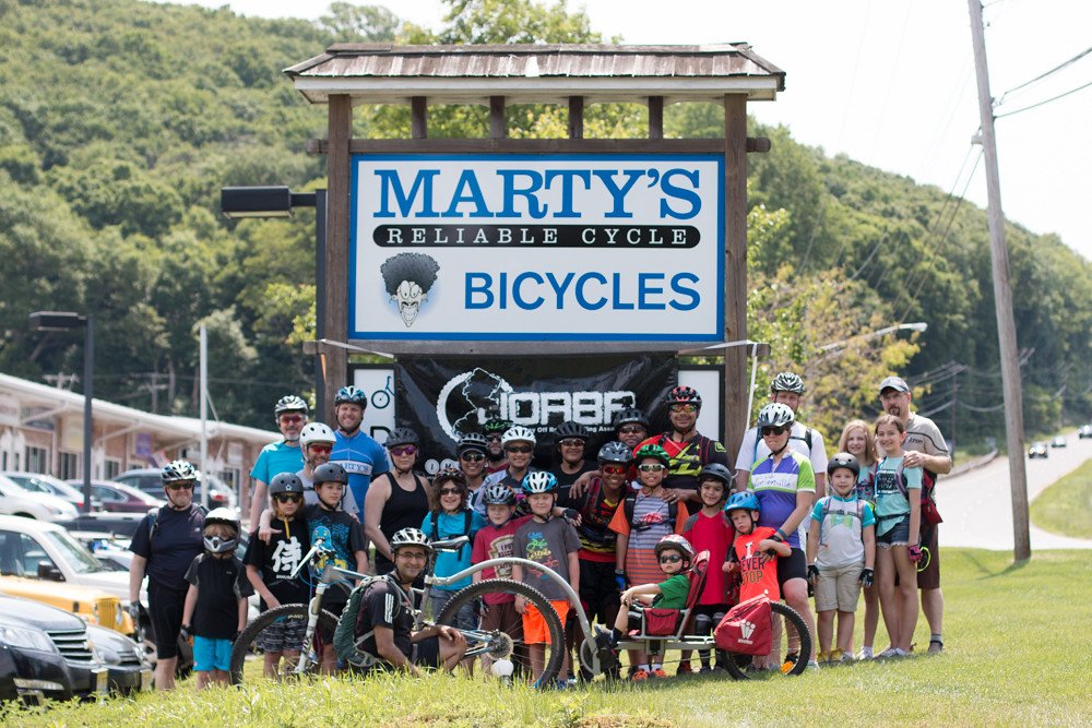 2016 IMBA Take a Kid Mountain Biking Day