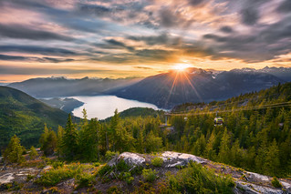Squamish Sunset | by denny.yang