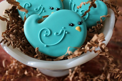 Bluebird Cookies | by SweetSugarBelle