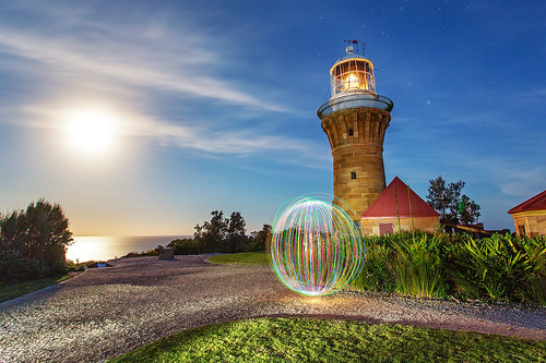 the orb at Barrenjoey Lighthouse | by Luke Tscharke