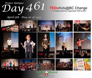 Day 461 - TEDxKids@BC Change | by SukhrajB