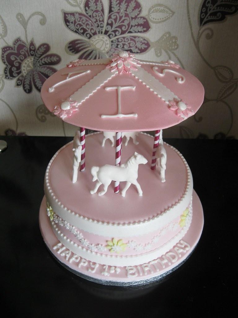 Carousel Birthday Cake Susan Flickr