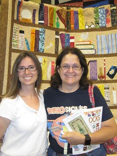 Me with Sarah from Houston | by Jennifer Ofenstein (sewhooked.com)
