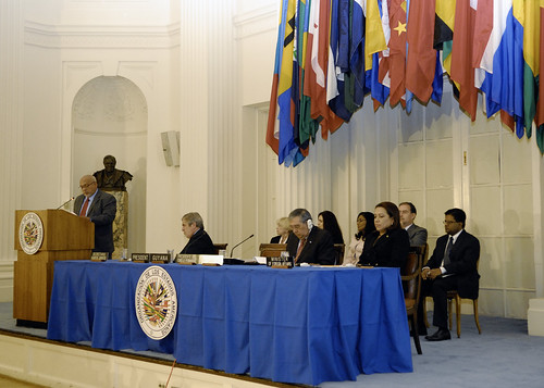 Permanent Council Receives President of Guyana | by OEA - OAS