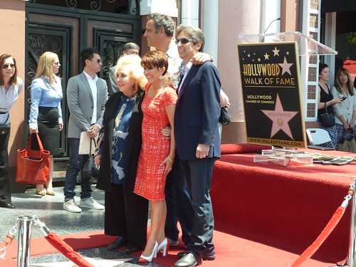 """Everybody Loves Rayond"" cast @ Patricia Heaton's Hollywood Walk of Fame star unveiling 