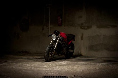 Ducati Monster Race Bike