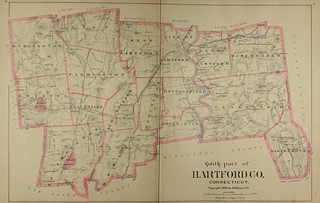 Page 42 and 43 of Town and city atlas of the State of Connecticut. / Compiled from government surveys, county records and personal investigations | by uconnlibrarymagic