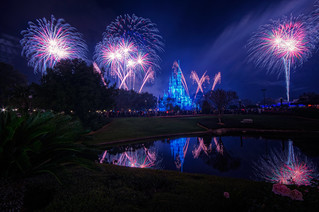 Almost Fantasy In The Sky Fireworks | by Definitive HDR Photography