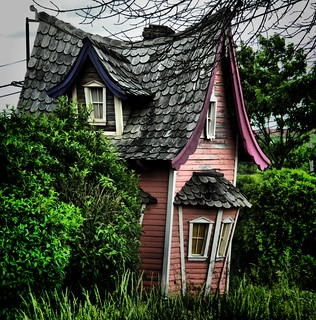 Miniature Abandoned home | by HolleyandChris