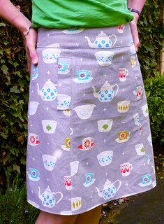 tea party skirt | by Truly Myrtle