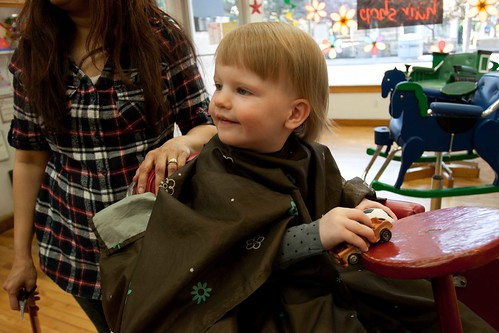Gigi's First Haircut - May 2012 | by Aasen Ryan Family