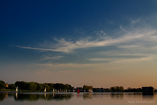 Yeadon Tarn | Evening Light | by Mark Winterbourne | markwinterbourne.com
