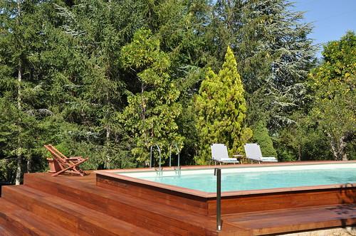 Dv country legno 4x8 2 piscina laghetto dolcevita for Piscine 4x8