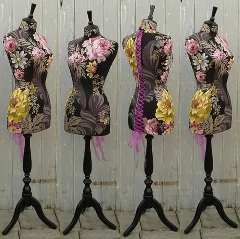 designers guild fabric mannequin | by Corset Laced Mannequins
