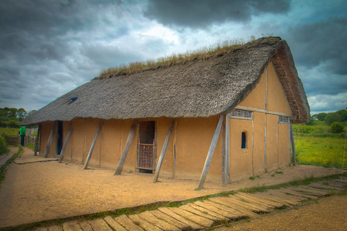Reconstructed Viking House in Hedeby | by svenpetersen1965