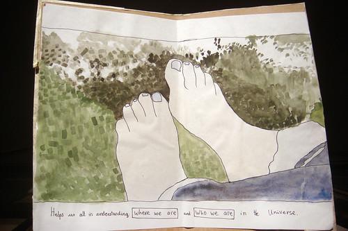 Marina Turmos kartor startar där hon sätter sina fötter