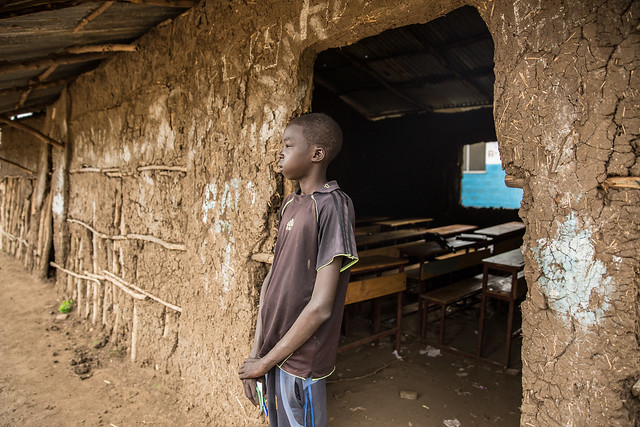 Ruey Tut Rue, 15, and 7th grade student, Pagak village in Gambella.