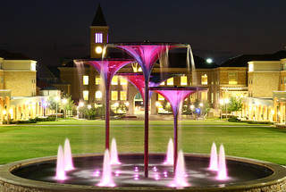 TCU Frog Fountain | by SamRyanFilms