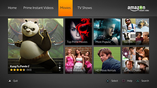 amazon instant video - movies | by PlayStation.Blog