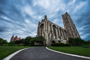 The gathering storm above Rockefeller Chapel | by kern.justin
