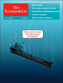 The Economist: Please can we start the engines now, Mrs Merkel? cover by Jon Berkeley #donttellmerkel | by dullhunk