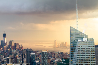 Bank of America Tower & One World Trade Center | by RBudhu