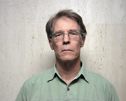 Writer Kim Stanley Robinson, British Library, Euston Road, London WC1, 9th June 2012 | by joelmeadows1