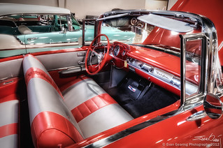 '57 Chevy Bel Air Interior | by Evan Gearing (Evan's Expo)