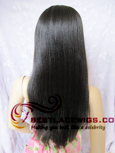 full lace wigs Chinese virgin remy yaki Terri davis wig [G ...
