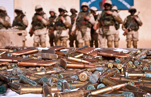 Weapons Haul Seized By Troops in Afghanistan | by Defence Images