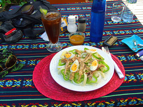 Kangaroo hotel chef salad | by dongato
