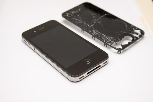 Cracked Iphone  Plus