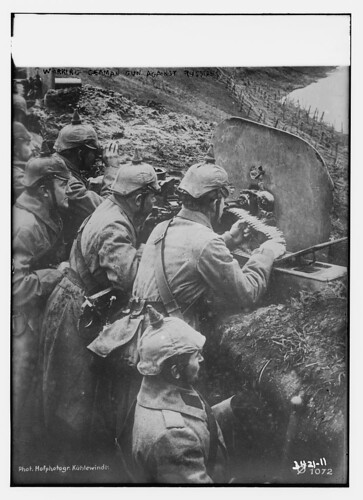 Working German gun against Russians  (LOC) | by The Library of Congress