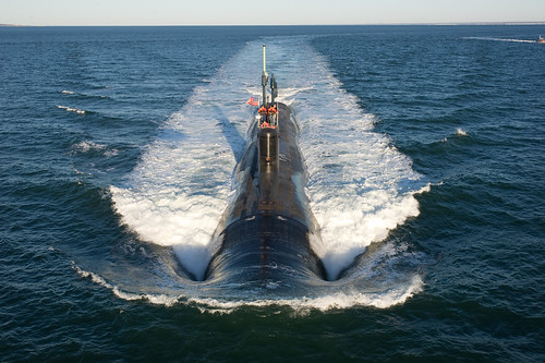 Submarine conducts alpha trials in the Atlantic Ocean [Image 1 of 9] | by DVIDSHUB